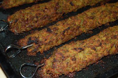 Vegetarian indian spiced mung bean Kebab Recipe - lush!