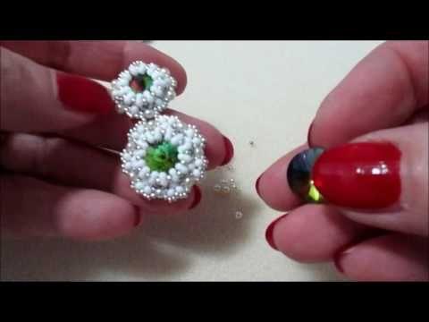 ENG SUBS - DIY Tutorial Orecchini Fiori di Pesco con Kheops Par Puca - YouTube