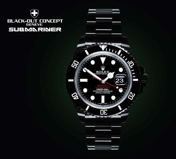 ROLEX SUBMARINER - BLACK-OUT
