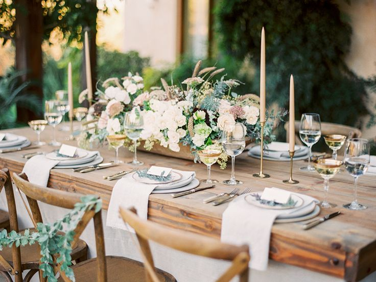 Ojai Winter Wedding Inspiration + Pear Brandy Champagne Cocktail