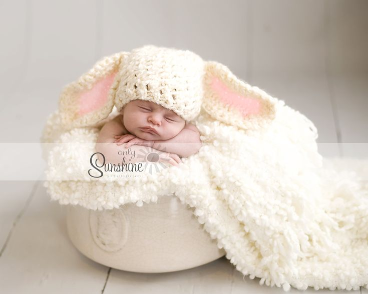 Easter Newborn Picture