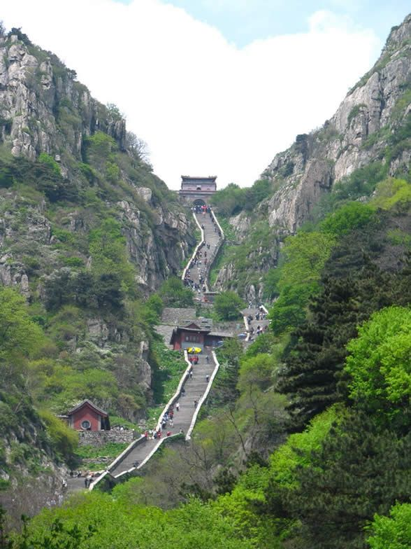 Mount Tai locates in the middle of Shandong province and covers Tai'an city and JiNan city with the area of 426 square kilometers, reaches 1545 meteres above sea level. Mount Taishan was called DaiZong(means the principal mountain of China) before and was renamed Mount Taishan then went by the name of DongYue(the Sacred Mountain of east China) that was ranked on the top of the five most important mountains in China. In 1987, Mount Taishan was listed as a UNESCO World Cultural and Natural…