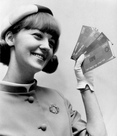A general Expo 67 hostess