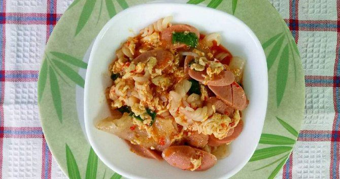 The Method And Recipe For Making A Simple Bandung Seblak Are Delicious The Best Recipe Recipes Good Food Food