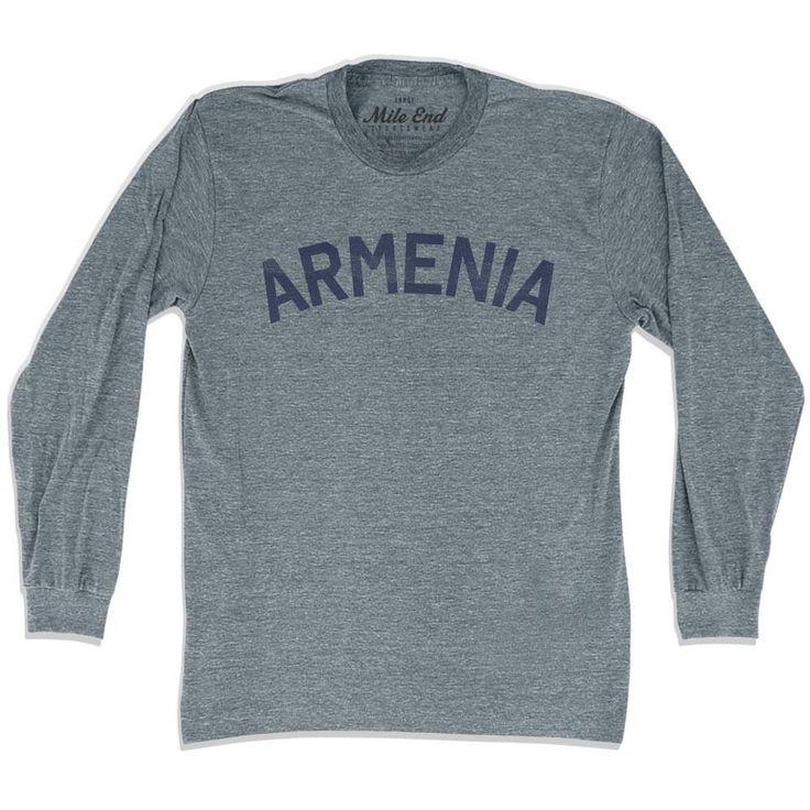 Armenia City Vintage Long Sleeve T-shirt