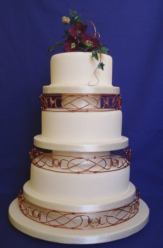 irish wedding cakes pictures these tier separators are awesome i would to use 16485