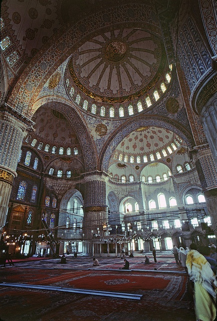 Blue Mosque, Istanbul by josullivan.59, via Flickr