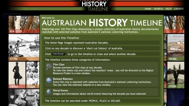 Digital Learning | National Film and Sound Archive of Australia