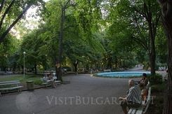 The Sea Garden Park in Bourgas