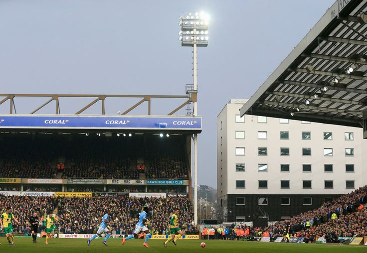 @NorwichCity Carrow Road. #Canaries hold #Citizens to stalemate #9ine