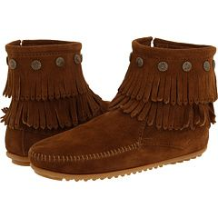 "Minnetonka Moccasins - my best buy during my visit to the ""Land of 10,000 Lakes""."