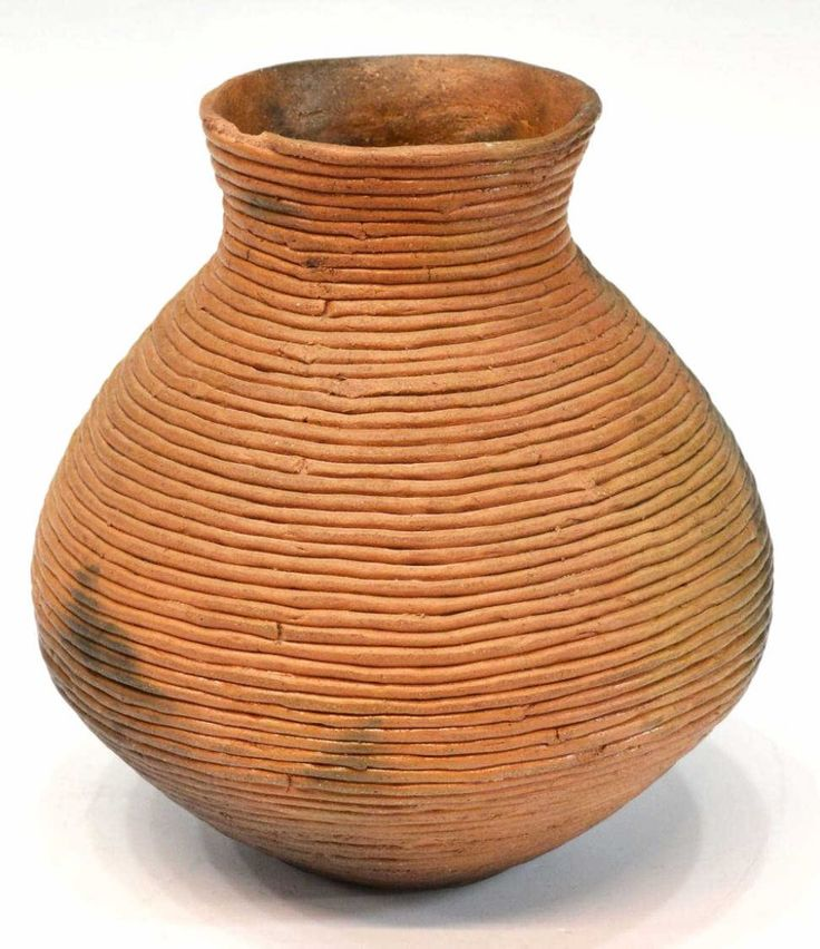 Southwest Native American pottery coil pot, probably Navajo