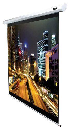 "Elite Screens - Spectrum Series 84"" Motorized Projector Screen - Black"