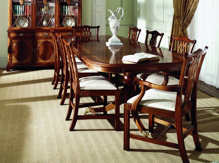traditional mahogany extending dining table other major changes to this style of table are the - Mahogany Dining Table