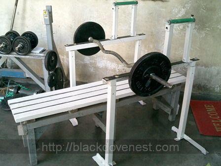 Homemade Bench Press Rack | Blackdove Nest