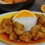 Découvrez vite la recette du poulet orange croustillant, inspirée de celui servit dans la chaîne américaine \