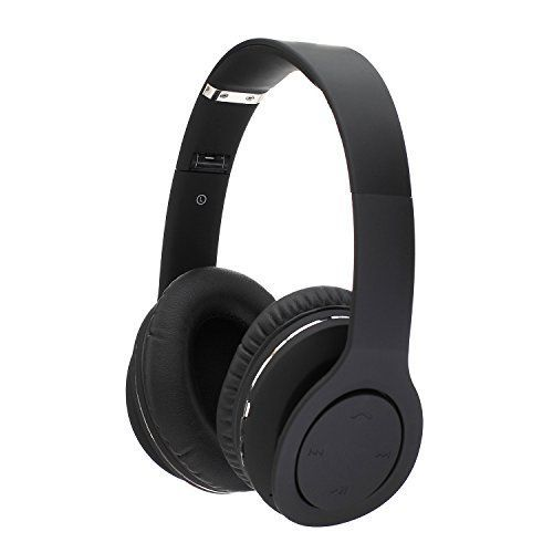 Special Offers - Beyda Bluetooth4.1 Wireless Stereo NFC Noice Cancelling Gaming Headsets  Over Ear Cordless Headphones with 3.5mm Wired Audio In NFC Tap to Connect and Built-in Microphone (Black) - In stock & Free Shipping. You can save more money! Check It (May 10 2016 at 05:39PM) >> http://wheadphones.com/beyda-bluetooth4-1-wireless-stereo-nfc-noice-cancelling-gaming-headsets-over-ear-cordless-headphones-with-3-5mm-wired-audio-in-nfc-tap-to-connect-and-built-in-microphone-black/