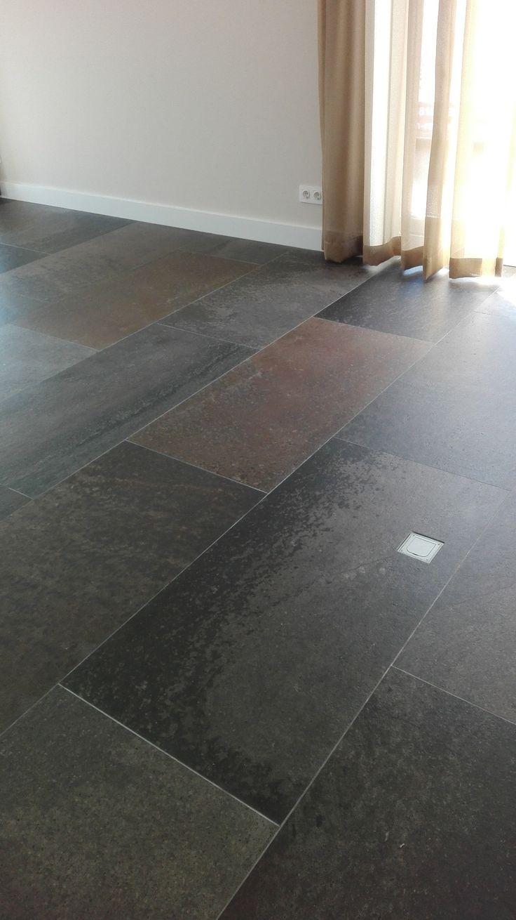 25 beste idee n over leisteen tegel vloeren op pinterest leisteen tegels leisteen tegels in - Porselein vloeren ...