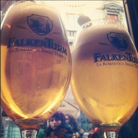 #Birra #Falkenturm grazie ad @andrea_benincasa per la bella foto #instagram #pinta #beer #sangeminianoitalia