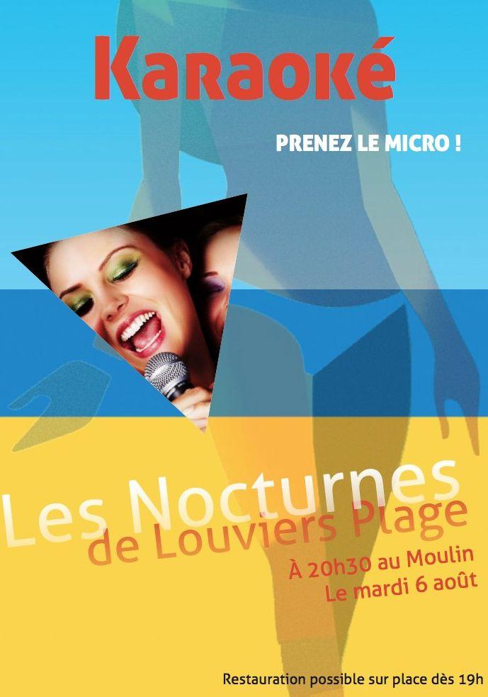 Soirée chanson, soirée karaoké sur #Louviers Plage ce soir !