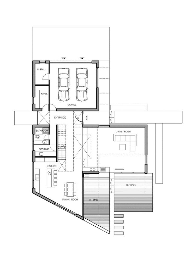 Architecture House Floor Plans 254 best modern house design images on pinterest | modern homes