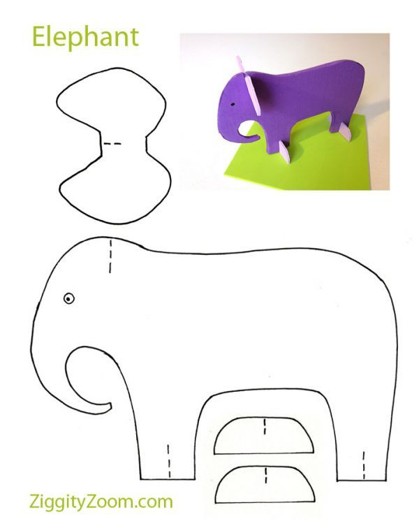It's just a graphic of Refreshing Animal Cutouts Printable