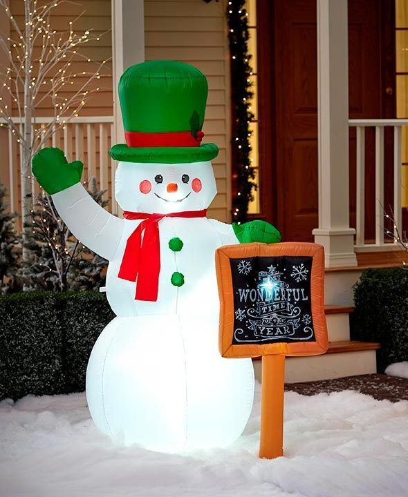 Outdoor Lighted Christmas