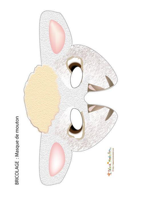 25 best ideas about masque a imprimer on pinterest - Masque de carnaval a imprimer ...