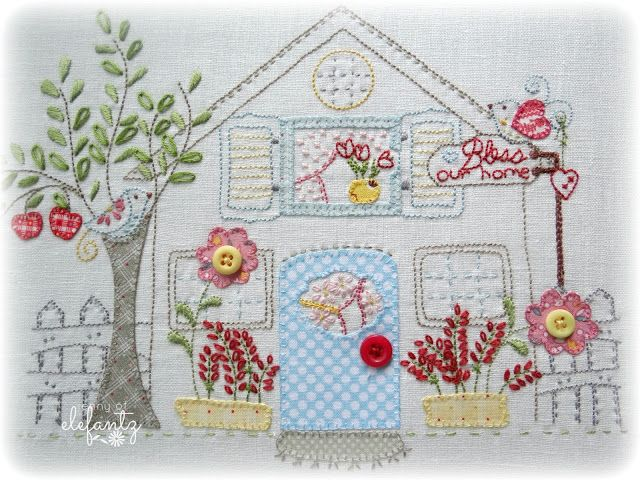 """""""Homespun"""" project and a tutorial!"""