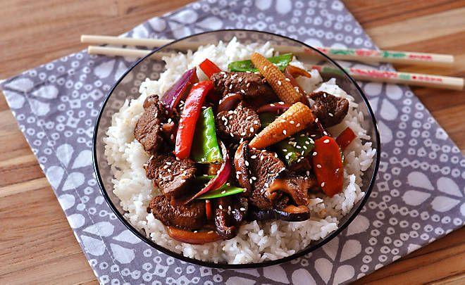 Lamb Tenderloin Asian Stir-Fry Recipe | D'Artagnan