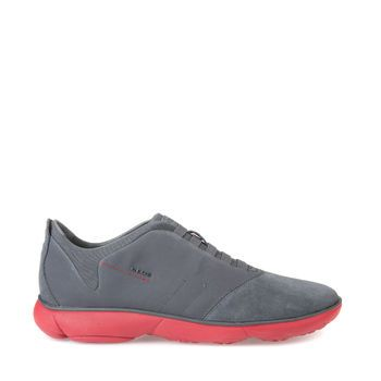 Buy Nebula Man men's trainers in red. Order now at Geox. Free returns!