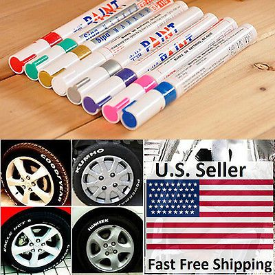 US-Deals Cars Universal Waterproof Permanent Paint Marker Pen Car Tyre Tire Tread Rubber Metal: $3.79 End Date: Wednesday…%#USDeals%