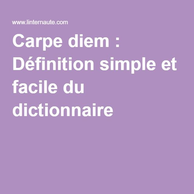 10 best ideas about carpe diem traduction on pinterest for Carp meaning