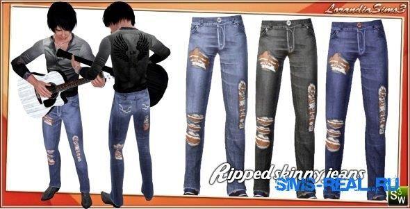 Рваные джинсы для симс 2