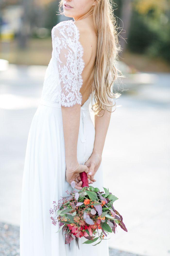 Die besten 17 Ideen zu Lässige Brautkleider auf Pinterest  kurze ...
