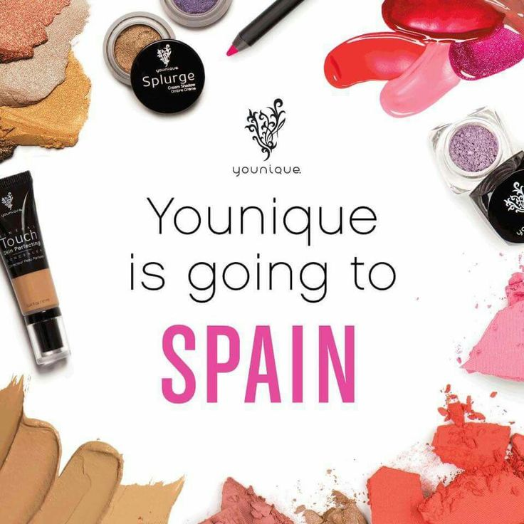 Yes, Younique is global. Yes, we are growing at unbelievable rates. Yes, I want you on this journey with me!!!  We just added Spain to our international market. Fun times!