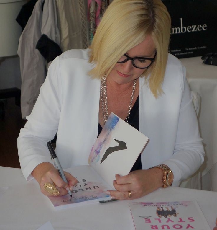 Nikki Parkinson at the launch of Unlock Your Style at Berardo's Noosa