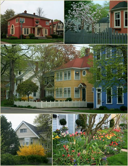 Prince Edward Island! Look at those houses!!