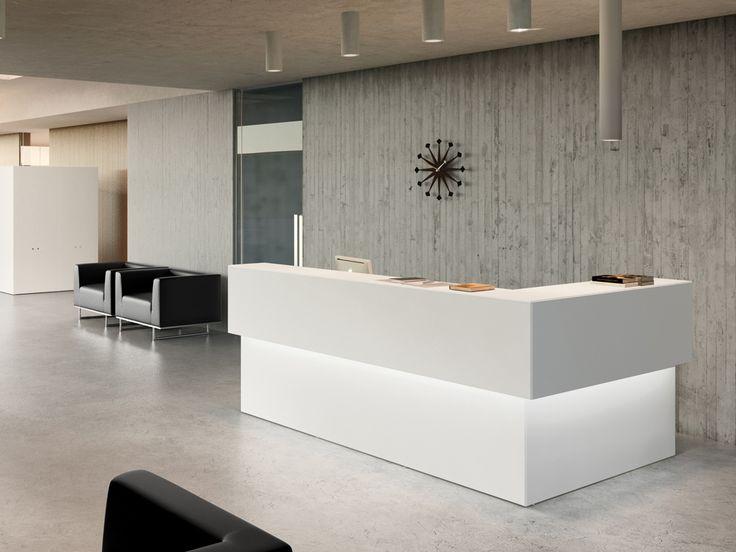 Modern Office Reception Desk - Home Office Furniture Set Check more at http://michael-malarkey.com/modern-office-reception-desk/