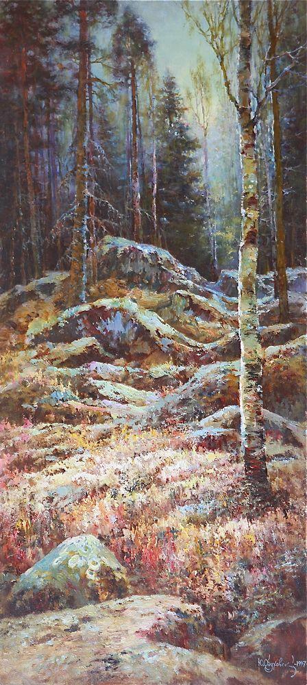 Yuri Obukhovsky, Пейзажи Карелии