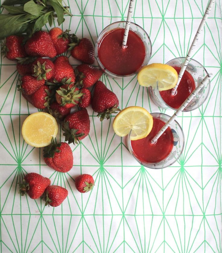 Make your own strawberry thai basil soda (or sub your own herbs and ...