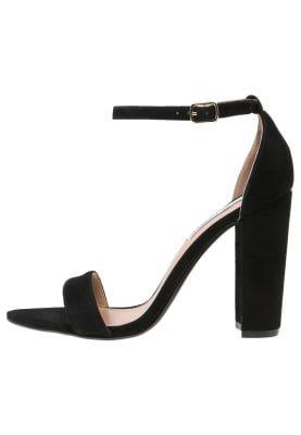 Bestill Steve Madden CARRSON - Sandaler med høye hæler - black for kr 759,00 (18.11.16) med gratis frakt på Zalando.no