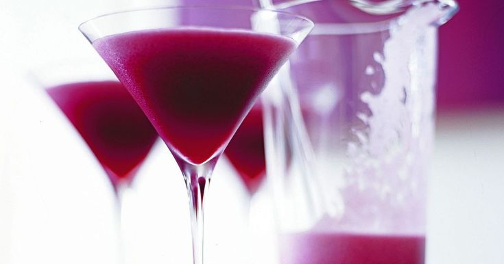 A delightful pink cocktail using pomegranate and vodka that's sure to break the ice.