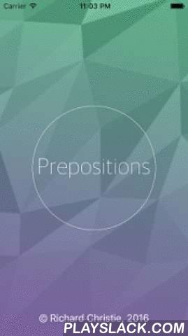 English Prepositions Help  Android App - playslack.com ,  Do you want to speak English clearly? You need to use PREPOSITIONS. Our app will help you!You will find lots of words with prepositions and examples, and tests!If the word you are looking for is not in our app, please email us on 8mindsenglishapp@gmail.com, and we will answer your questions as quickly as we can.Английские предлоги / Preposiciones en Inglés / حروف الجر في الانجليزية / 英語介詞 / 英语介词 / 英語前置詞 /영어 전치사 / अंग्रेजी पूर्वसर्ग…