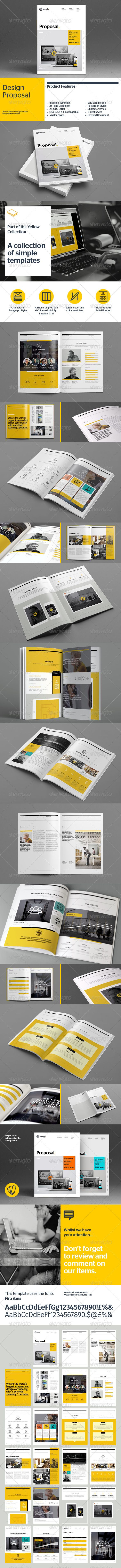 Proposal Template | Download: http://graphicriver.net/item/proposal-template/8536184?ref=ksioks
