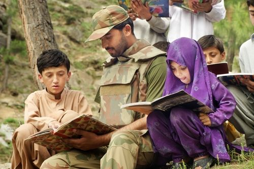 #Pakistan army- the bright side... the untold truth!!