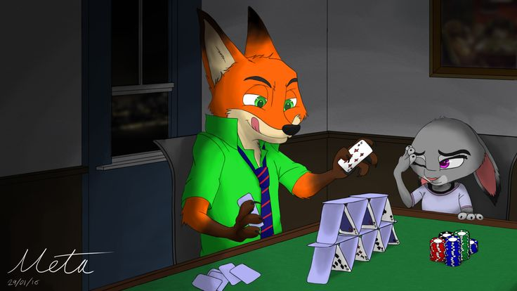 So Much for the standard game of Poker. Nick Just Couldn't help himself.