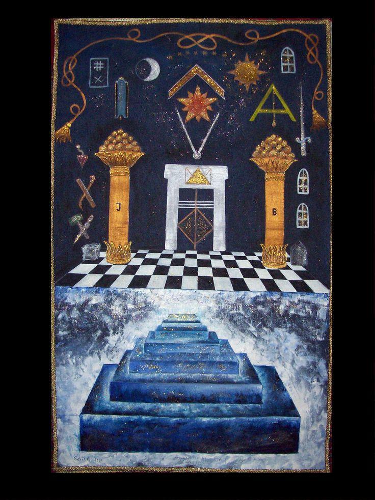 Masonic Arts | Masonic Symbols | Masonic art, Freemason ...