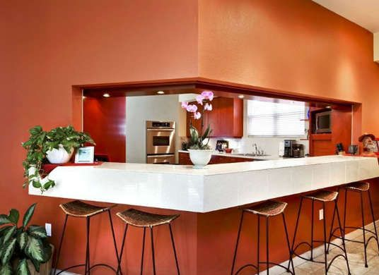 Marsala - Pantone's Color of the Year - earthy red-brown color for your home