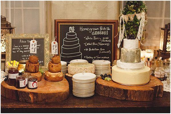 Lekker alternatief voor bruidstaart: een kaasjestafel
